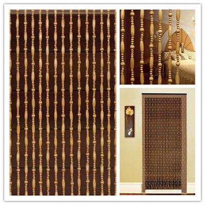 Fashion Bead Door Curtain, Wooden Bead Door Screen, Feng Shui Bead Curtain,  Wooden Bead Curtain, Size 90cm*200cm 31String In Curtains From Home U0026  Garden On ...