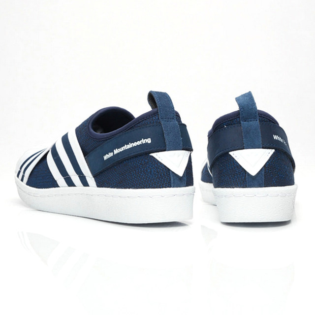 the latest 5ee47 4bde6 Original New Arrival Authentic Adidas White Mountaineering Superstar Slip  on Men Skateboarding Shoes Sport Sneakers BY2879-in Skateboarding from ...