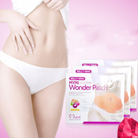 5pcs Pack MYMI Wonder Slim Patch Slimming Belly Lose Weight Abdomen Fat Burning Patch Free Shipping