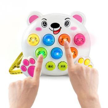 Детские Пластиковые Музыкальные игрушки для малышей, игра в хомяка, игра в насекомое, игра в фруктовый червь, Обучающие инструменты, musicais