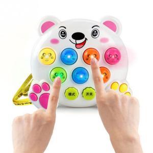 Image 1 - Juguetes musicales de plástico para niños y bebés, juguete para golpear a los hámster, juego de insectos, gusano de la fruta, Instrumentos educativos, Juguete musical