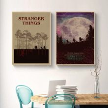 (Wall Stickers) classic posters stranger things out latest poster decorative cover Household adornment picture(China)