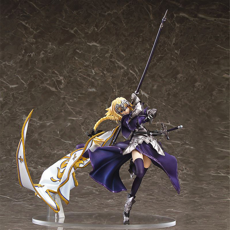 Free Shipping 8 Fate Grand Order Anime Apocrypha Ruler Joan of Arc 5th Flag Boxed 19cm PVC Action Figure Model Doll Toys Gift huong anime figure 20 cmfate stay night fate zero apocrypha joan of arc pvc action figure toy model collectibles