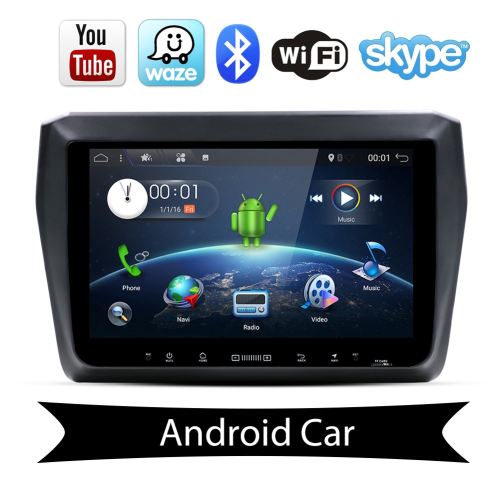 android 7 1 car dvd player ram 2g for suzuki swift 2017. Black Bedroom Furniture Sets. Home Design Ideas