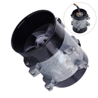 beler New Car Auto Electric Turbine Power Turbo Charger Tan Boost Air Intake Fan High Speed 12V