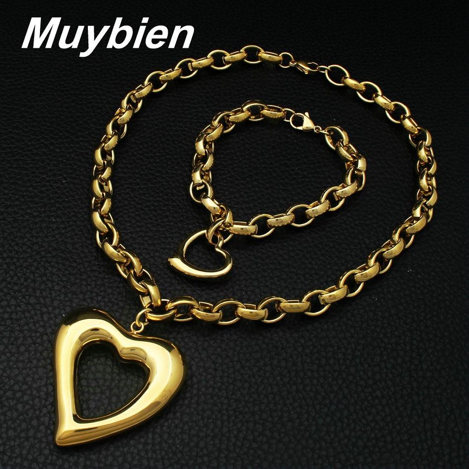 La joyería más nueva del acero inoxidable del corazón de la - Bisutería - foto 3