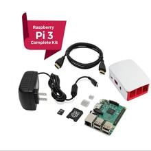 Raspberry Pi 3 COMPLETE Starter Kit, Black, 16GB Edition Pi3 Model B Barebones Computer Motherboard 64bit Quad-Core CPU 1GB RA