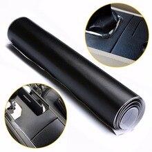 100X30cm Black Leather Texture DIY Car Interior Dashboard Sticker Trim Vinyl Wrap Sheet Film PVC Stickers Styling