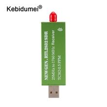 جهاز استقبال للتليفزيون USB2.0 RTL SDR 0.5 جزء في المليون TCXO RTL2832U R820T2 موالف التلفزيون AM FM NFM DSB LSB SW البرمجيات المحددة راديو التلفزيون الماسح الضوئي استقبال