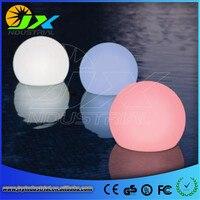 20 cm/30/40/50 cm Sconto IP68 impermeabile Galleggiante HA PORTATO Palla per piscina/LED sfera galleggiante per il giardino
