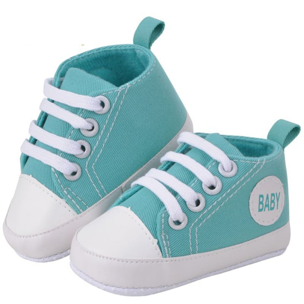 Kids Children Boy Girl Sports Shoes Baby Soft Canvas Sneakers Infant Bottom First Walkers 7 Colors New Arrival Hot