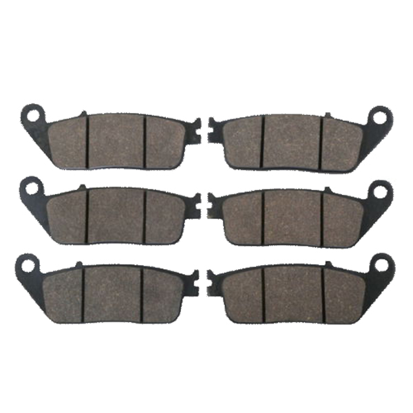 Motorcycle Sintered Front Rear Brake Pads For HONDA ST1100 ST 1100 PAN EUROPEAN HONDA GL1500 GL 1500 FC6 1997 - 1999 kingsun rear adjustable ball joint camber control suspension arm kit for 1990 1997 honda accord acura cl tl1996 1999 blue