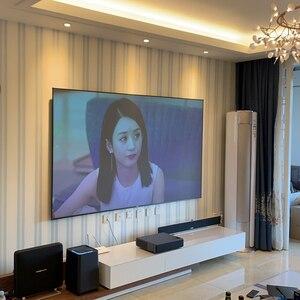 """Image 5 - ALR Umgebungs Licht Ablehnung Projektion Bildschirme 80 """"Ultra dünne grenze Rahmen Spezialisieren für Optoma Xiaomi UST projektoren"""