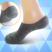 New Shallow mouth Men Socks Slippers Cotton Silicone Invisible Boat Socks Absorbent Series Stealth design Pile