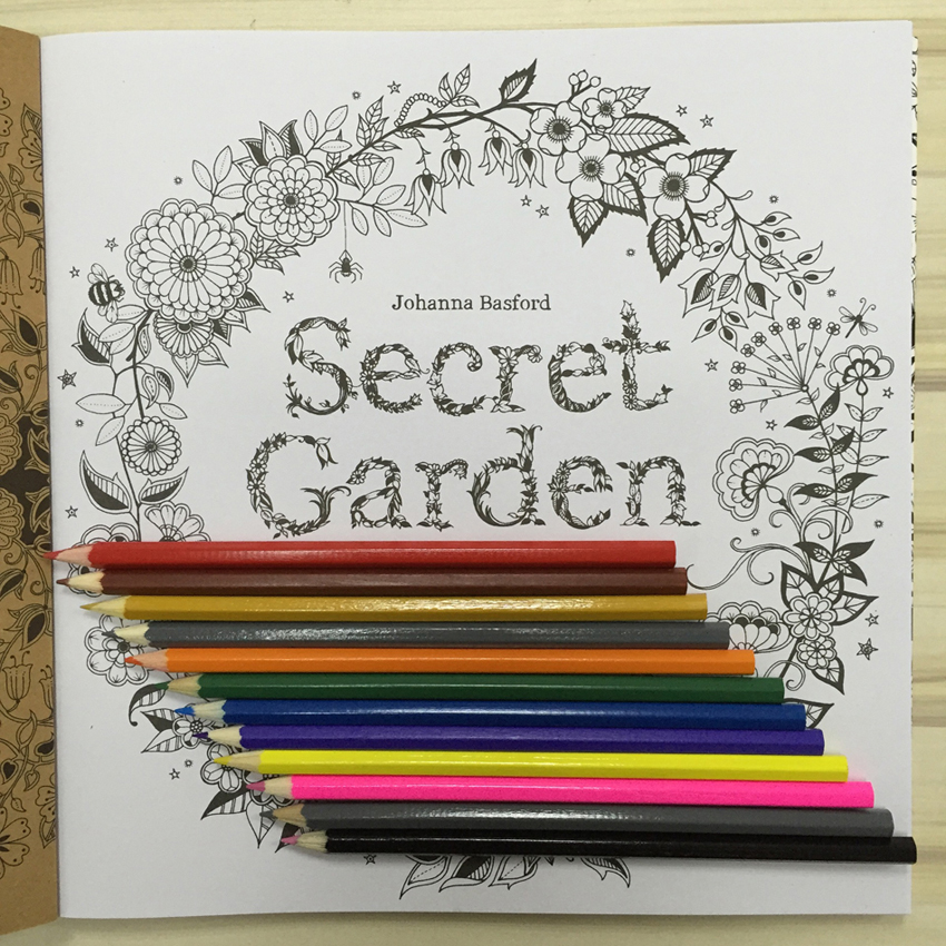 NEW 2016 Secret Garden Coloring Book 12 The Root Color