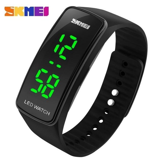 Skmei 1119 Clock LED Digital Watch Man Sports Watches Women Outdoor Watch Date Time Wristwatch Relogio Masculino Montre Femme