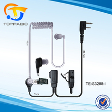 Topradio 2 варианта Радио наушники воздушный шланг 2Pin PTT гарнитура для ICOM IC-F3 IC-F3S IC-F4 IC-F4S IC-F4SR IC-F4TR02 способ Радио наушники