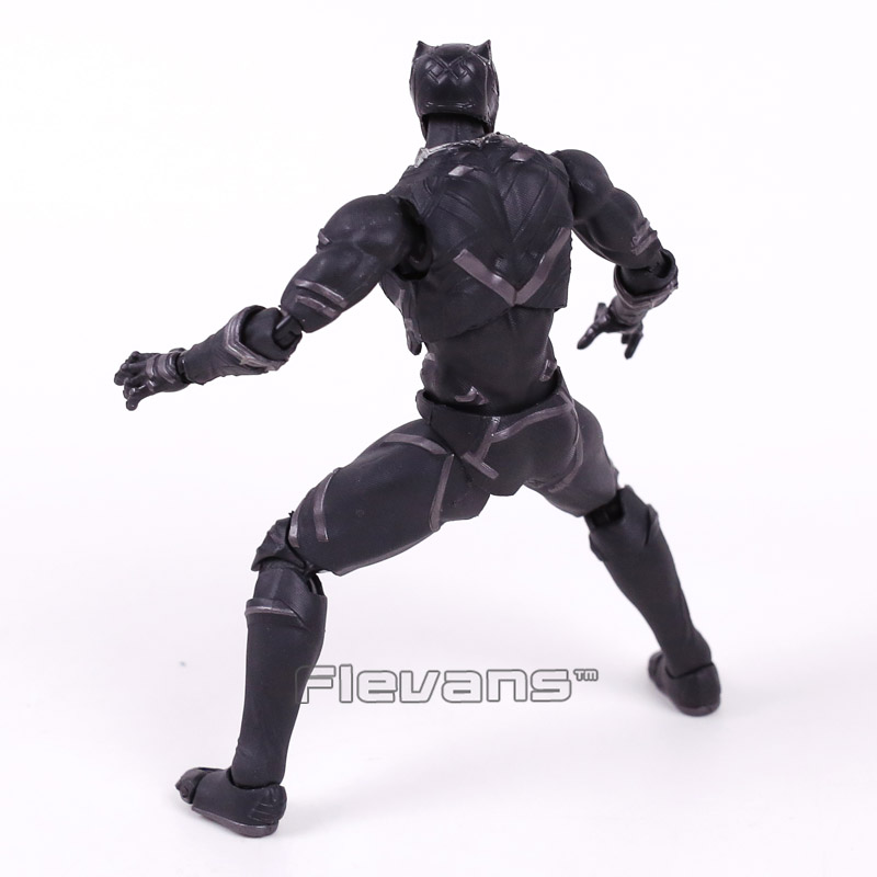 Civil Protection Toys : Shfiguarts captain america civil war black panther pvc