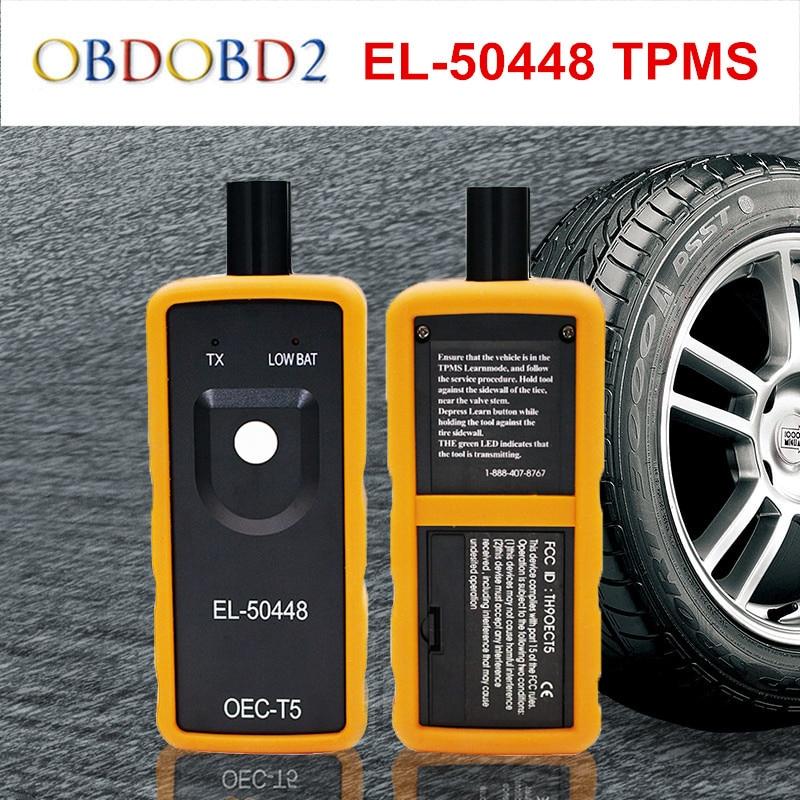 Date EL-50448 Pression Des Pneus Voiture Moniteur Capteur EL50448 TPMS Activation Outil Pour GM/Pour Opel OEC-T5 EL50449 Pour Ford Bateau libre