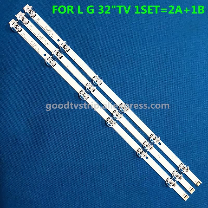 In Brand New 59cm Led Backlight 6leds For Lg Innotek Drt 3.0 32_a/b 6916l-1974a 1975a 1981a Lv320due 32lf5800 Sung Wei 55vo E74739 Exquisite Workmanship