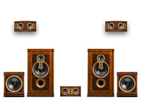 F10HT 5.2 Home Theater classical styled high end speaker 2.0 stereo HIFI system 5.2 to 11.2 multi channel home theater system