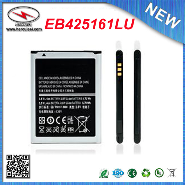 Battery EB425161LU for Samsung Galaxy S3 Mini i8190P Ace 2 GT-i8160 Duos 3 Pin