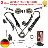 1L2Z6L253AA 3R2Z6A257DA 917250 Đối Với Ford 5.4L 3 V Trục Cam Phaser, Sprockets, thời gian Căng, Guides, Chains