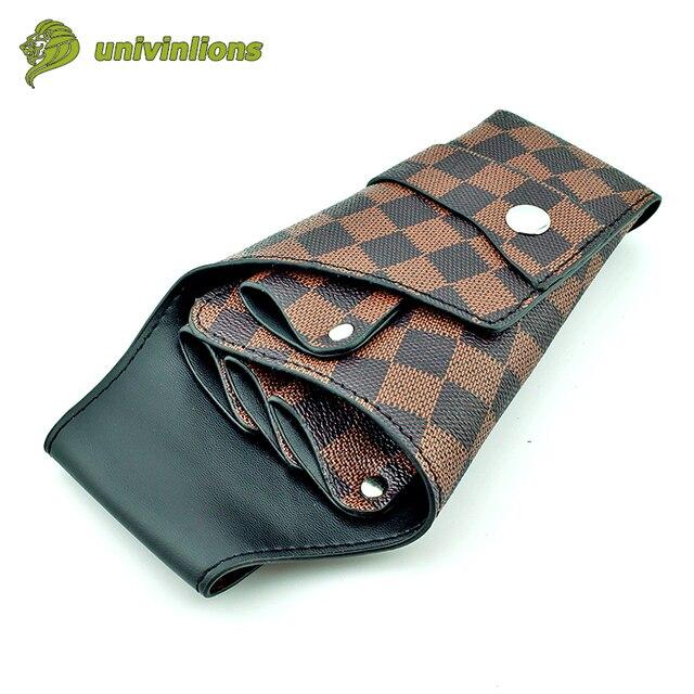 11 21 Cm Leather Barber Scissor Bag Salon Hairdressing Holster Shear Pouch Case Hairdresser With