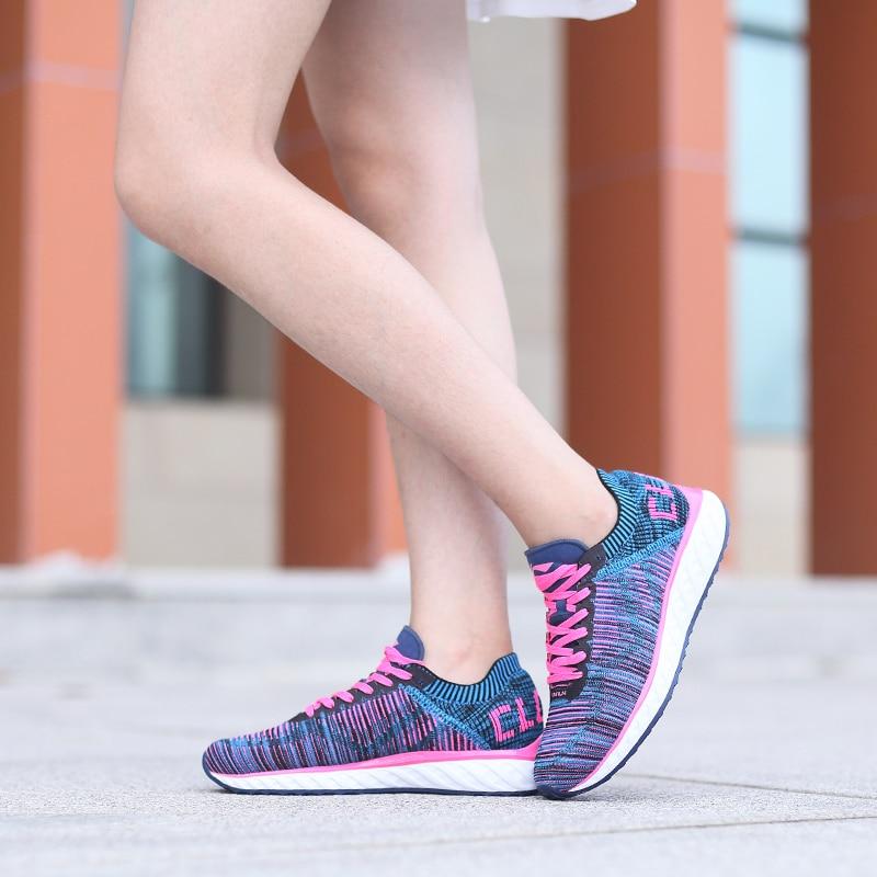 Li-ning femmes LN Cloud IV chaussures de course professionnelles respirant doublure baskets MONO fil chaussures de Sport ARHM034 XYP542 - 4