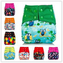 BAMBOO COAL Washable Cloth Diapers Baby Diaper Baby Wash Pocket Cloth Diaper Reusable Diaper Cover