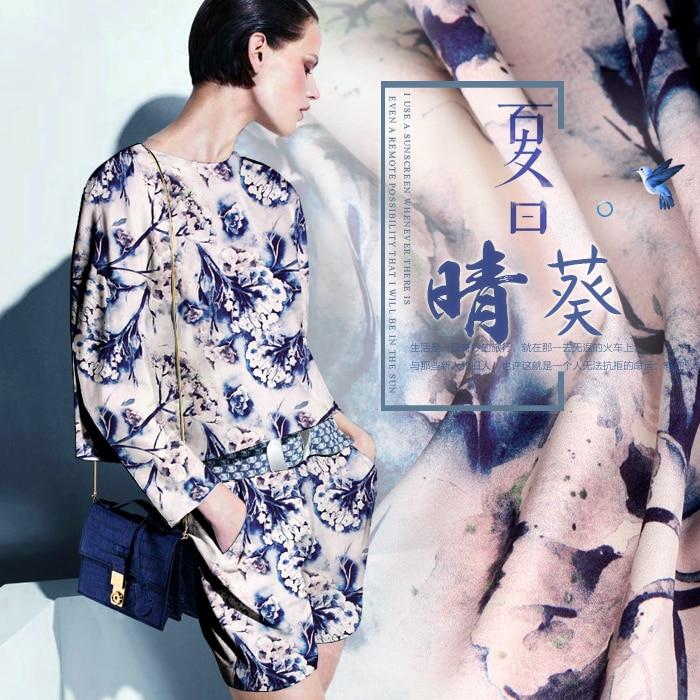 118cm πλάτος 19mm 93% μετάξι & 7% spandex floral - Τέχνες, βιοτεχνίες και ράψιμο - Φωτογραφία 3