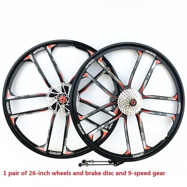 Sales Mtb1 For Magnesium Alloy Wheels 26 Inch Mountain Bike Wheels