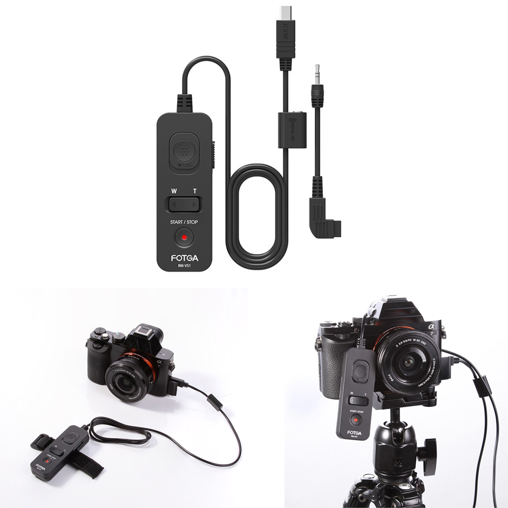 цена на FOTGA Remote Control Shutter Release Cable for Sony RX100M2 M4 A7M2 A6300