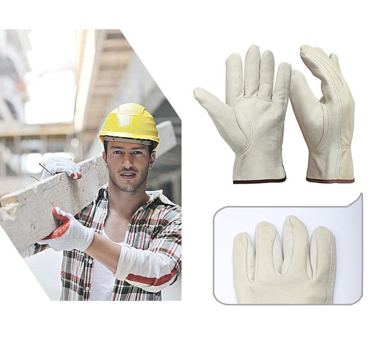 قفازات جلد للعمال 3