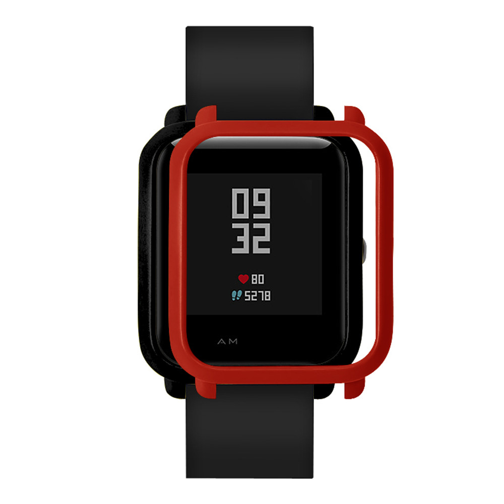 Cover Screen-Protector Amazfit Bip Protect-Shell Youth-Watch Slim Frame for Huami Pc-Case