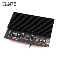 CLAITE 12V 800W HiFi Amplifier Subwoofer Amplifier Audio Board Bass HiFi for Car Motor Home Speaker SD USB TF 220V 24V 12V