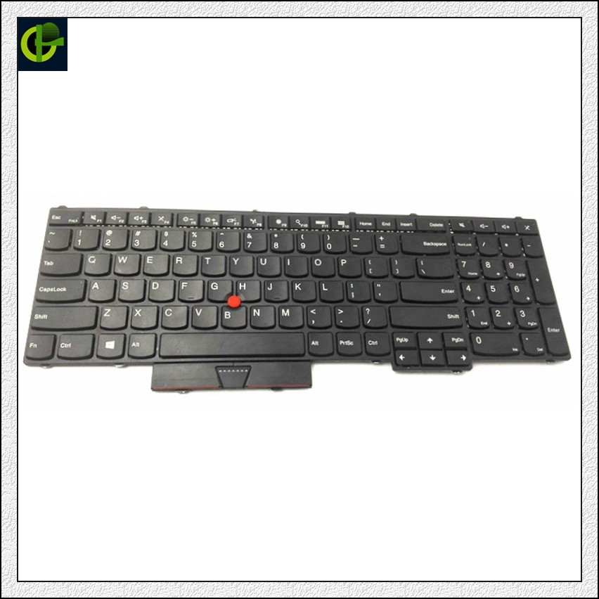 New English Keyboard for Lenovo IBM Thinkpad P50 P70 P51 MT 20EN 20EQ 20HH 20HJ P71 FRU 00PA288 00AP370 01HW200 01HW282 US new for lenovo ibm thinkpad p50 p50s series english us laptop keyboard