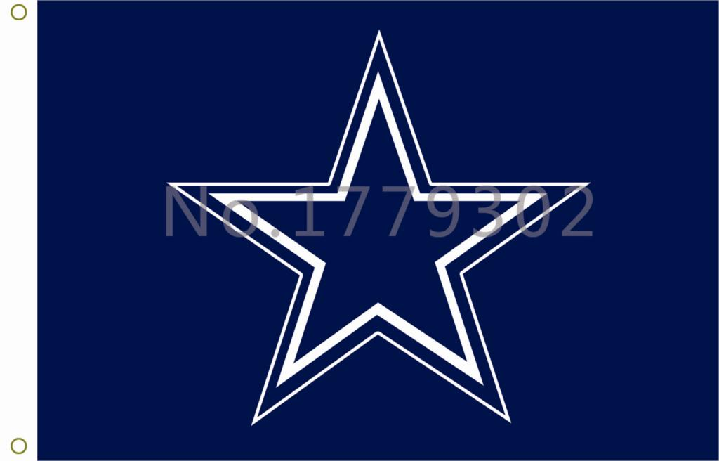 NFL Dallas Cowboys Flag3ft x 5ft 100% Polyester Patio, Lawn & Garden Outdoor Flags free  ...
