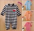 Envío gratis t shirt niños pajams cabritos de la manga larga pijama ropa interior del bebé recién nacido ropa
