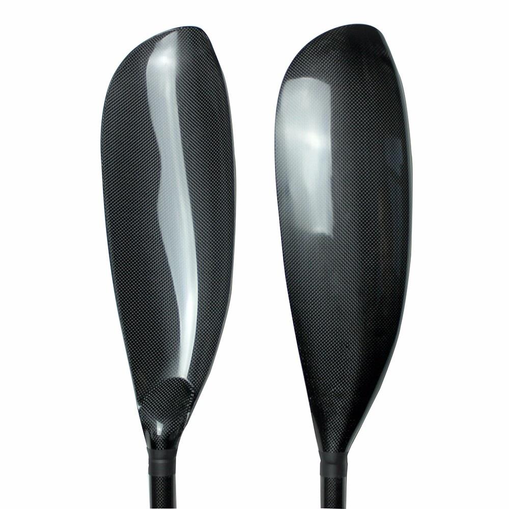 Pala per kayak in carbonio di alta qualità con lama in alluminio con - Sport acquatici