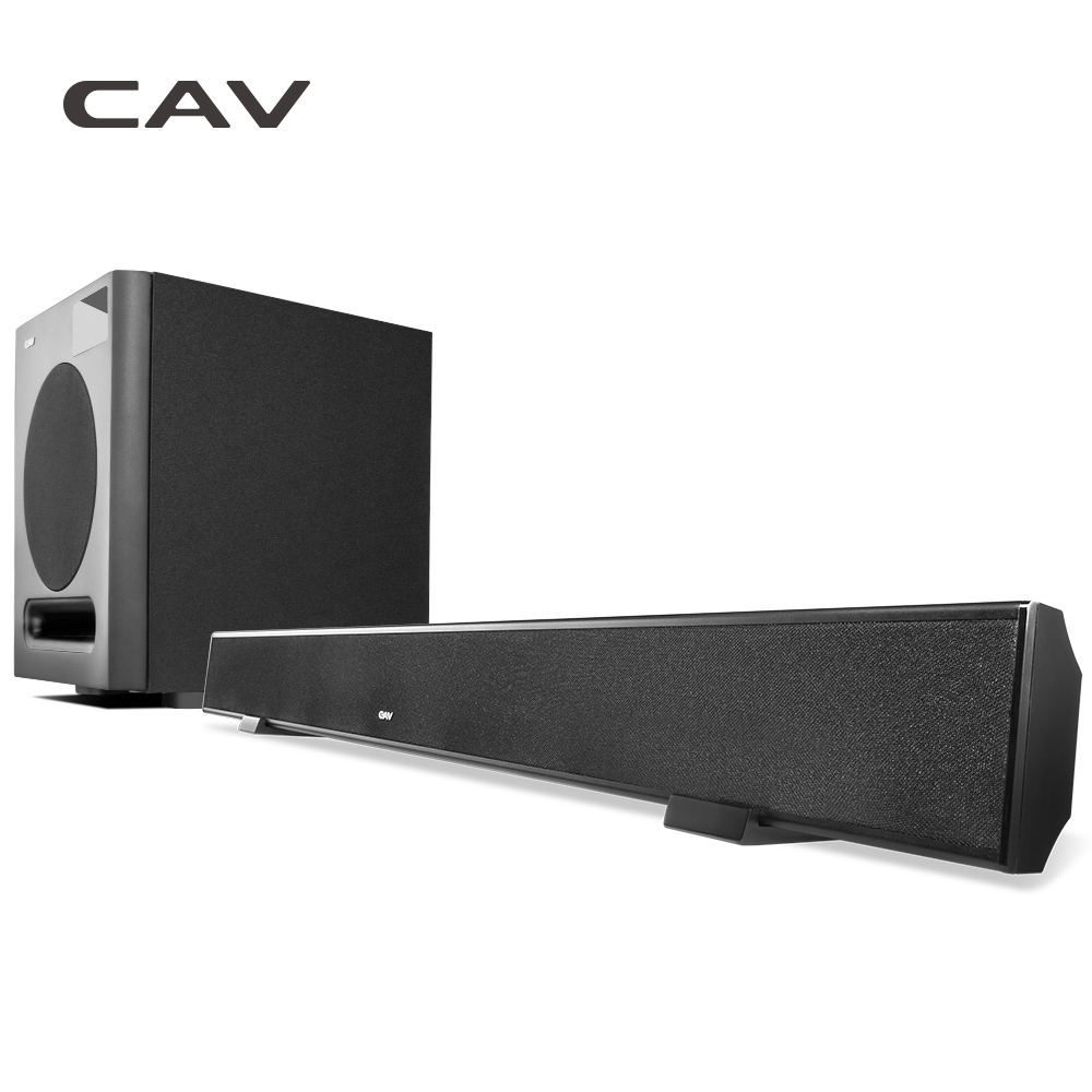 CAV AL110 & SW360B 3.1CH Home Theater 3.1 Wireless Bluetooth Soundbar Speaker With Subwoofer 3D True surround Stereo System