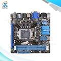 Для Asus P8H77-I Оригинальный Используется Для Рабочего Материнская Плата Для Intel H77 LGA 1155 для i3 i5 i7 DDR3 16 Г SATA3 USB3 HDMI DVI VGA Mini-ITX