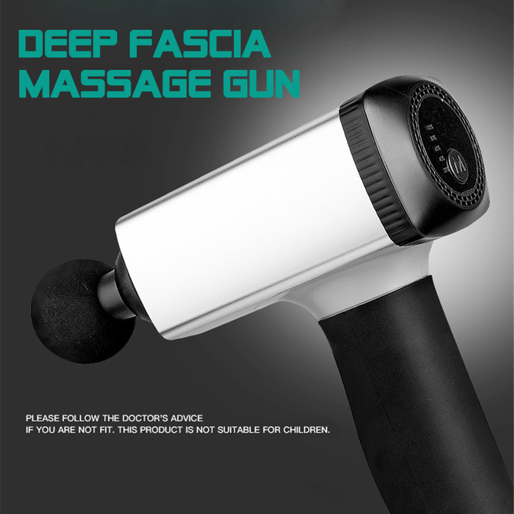 Deep Tissue Massage Muscle Massager Muscle Pain Management Training Exercising Body Relaxation Slim Shaping Fascia Muscle Gun