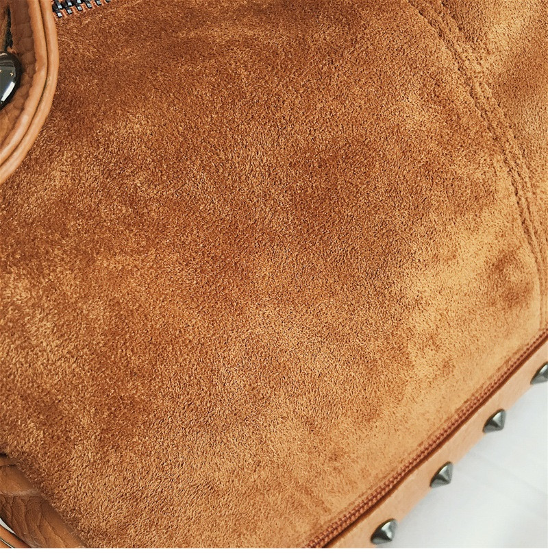 Vintage Rivet women Handbag Matte leather Boston Big Tote bag Winter new Shoulder Bags for Women Messenger Bag Blosa Sac (8)