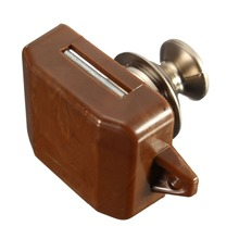 New Push Button Cabinet Latch for rv/motor Home Caravan Lock for Cupboard Push Latch Lock