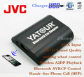 Yatour Bluetooth Hands-free Phone Call Car Adapter YT-BTA for JVC Head units Hi-Fi Sound Quality Wireless Playback Free shipping