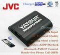 Yatour mãos Bluetooth Car telefone YT-BTA para JVC unidades de cabeça Hi - Fi sem fio de reprodução