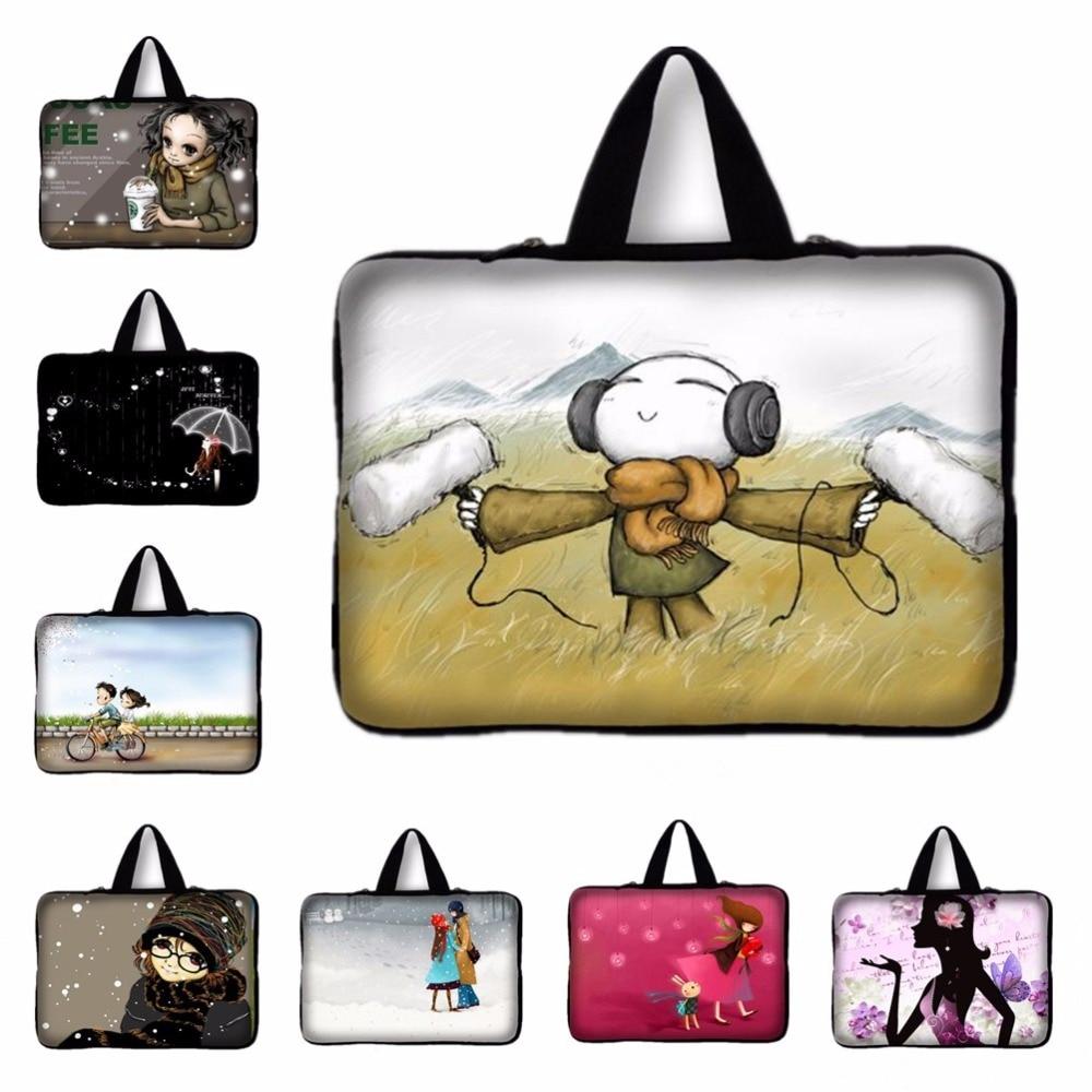 7.9 9.7 12 13.3 15.4 դյույմ Indie Pop Girls Laptop Bag Notebook - Նոթբուքի պարագաներ - Լուսանկար 1