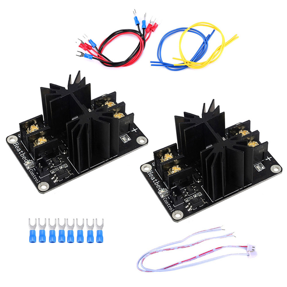 2 Sets Heated Bed Power Module High Current 210A MOSFET Upgrade RAMPS 1.4 Kit for 3D Printer 8 SL@88