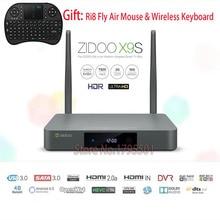 Preventa ZIDOO X9s Android 6.0 TV BOX 2 GB 16 GB + OpenWRT (NAS) Realtek RTD1295 2.4G/5.0G WIFI Bluetooth4.0 + R8 Fly Air Ratón